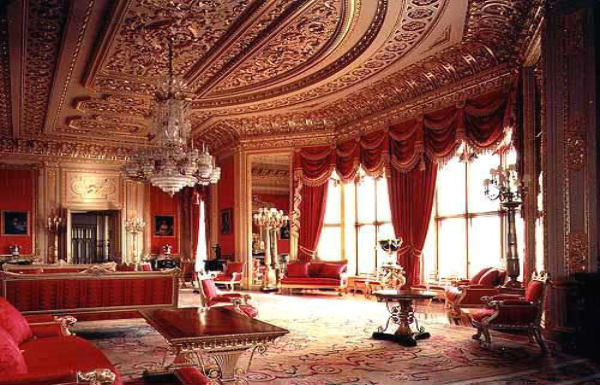 Queens Bedroom Buckingham Palace