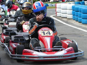 go karting stag weekend